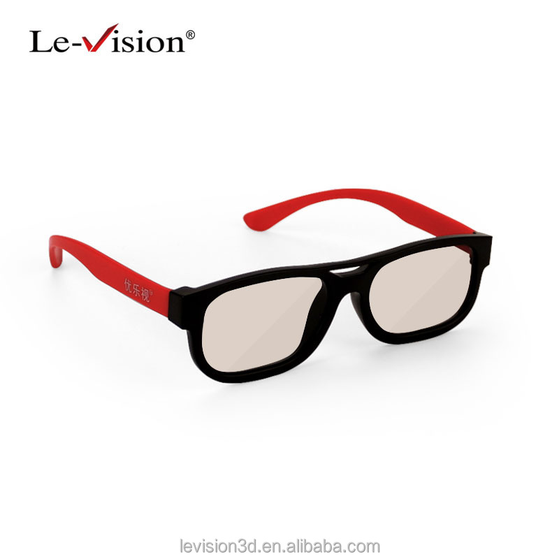 DLP 3D Glasses for 3D Cinema System and Home Theater Passive 5D Glasses/Wholesale Polarized 3D Glasses
