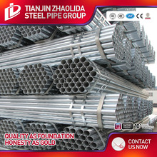 Quality insurance scaffold galvanize pipe 6 meter stock for more lower price