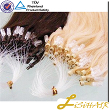 wholesale Remy Virgin Hair 1g strand double drawn microloop hair extension