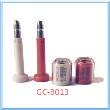 Container bolt seal GC-B013 with 8mm shaft and 75 mm FL