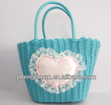 weaving with PP or PE material shopping and beach bag