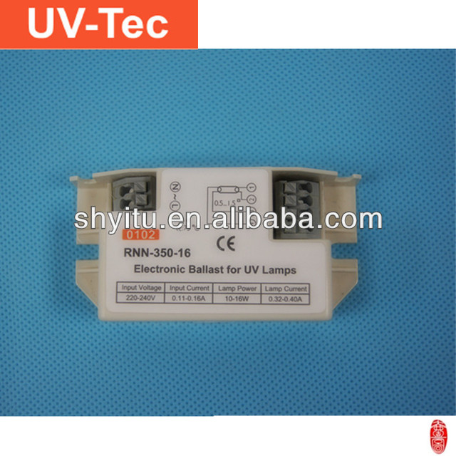 Electronic ballast for Philips UV lamp RNN-350-16