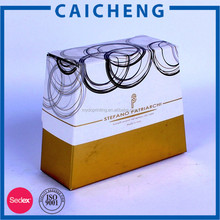 Empty cosmetic corrugated packaging cardboard perfume box