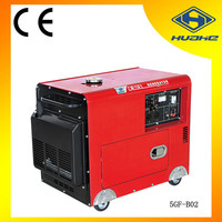 small portable diesel generator 5 kva,5kva silent diesel power generator with CE/GS certification