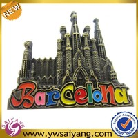 High quality Custom Barcelona fridge magnets , 3d fridge magnet , fridge magnet with best price