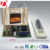 IR transmitter and receiver for home heater temperature controlling with LED temperature showing