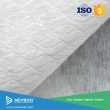 High quality Raw Material Spunlace Nonwoven Fabric Roll for Wet Wipes