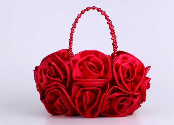 wholesale purses Clutch Bag with Rose