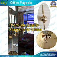 Office flagpole, Premium High quality 245cm high (NF23M03015)