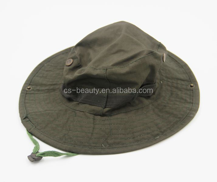 Wholesale CS Men Women Army green Military Hat Multicam Army Hat Tactical Boonie Cap Wide Brim Military Camo Boonie Hat