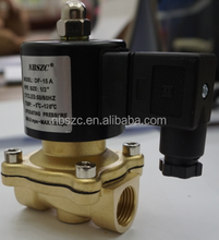 High quality high temperature 1/2 inch water solenoid valve 24v dc