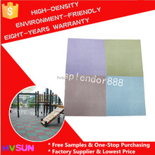 High density environmental friendly rubber playground paving hot sale rubber flooring