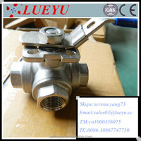 Stainless Steel ball valve with mounting pad Manufacture