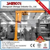 Small Size Swing Arm Hoisting Jib Crane