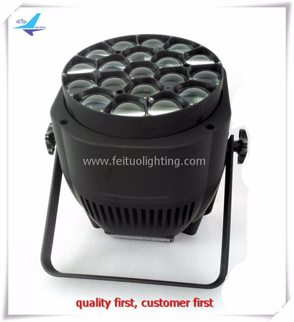 High Quality Big Bee Eye 19x15W rgbw Led Beam Zoom Par Light par led beam