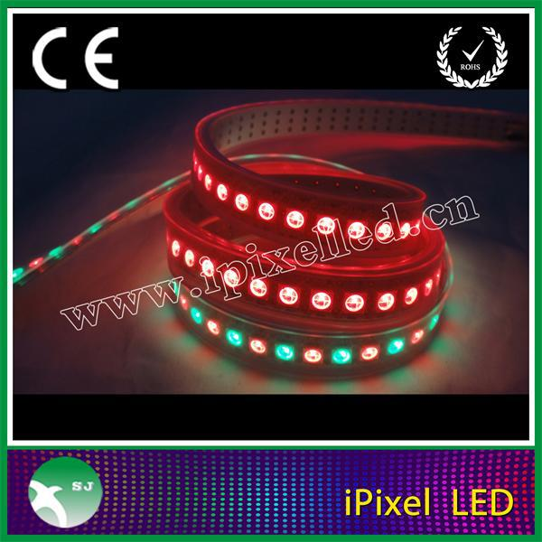 144leds per meter ws2812b waterproof addressable dmx rgb led strip