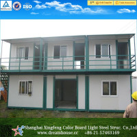 Hot selling living container house well Finished modular prefab homes for Staff Accommodation
