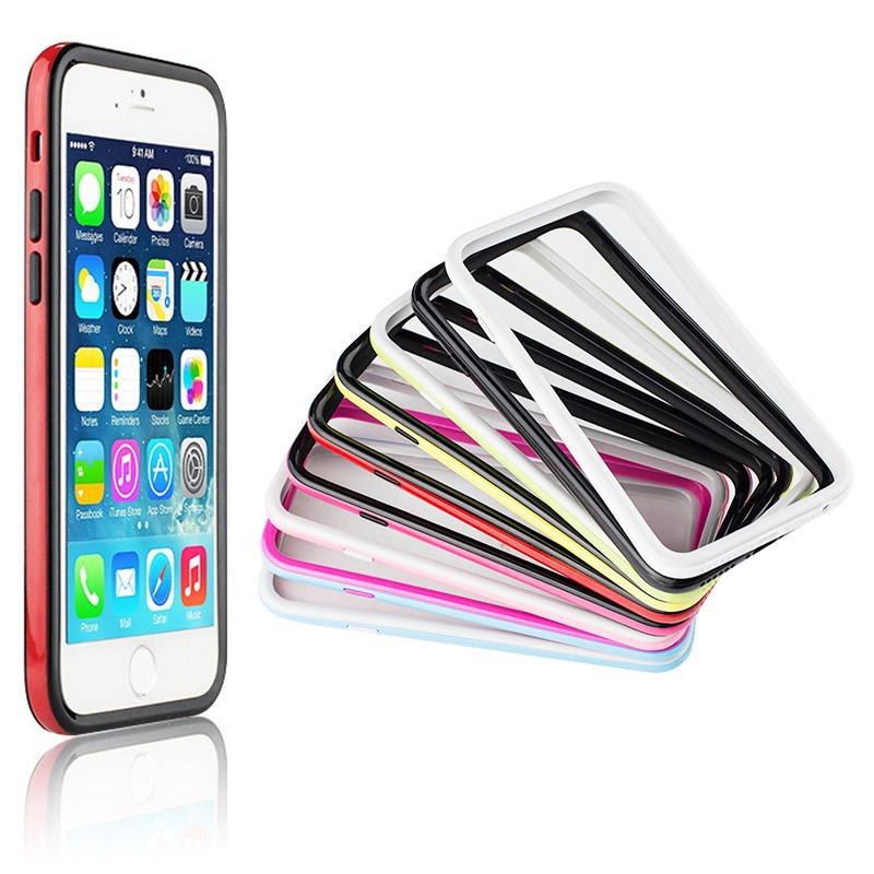 BRG Double Color Metal Phone Bumper for iPhone 6 Plus, for iPhone 6 Plus Aluminum Bumper