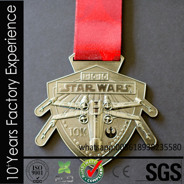 CR-PP618_medal export to USA plastic powerman malaysia for wholesales for sell