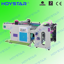 PET PVC paper plastic sheet fast speed automatic screen printing machinery