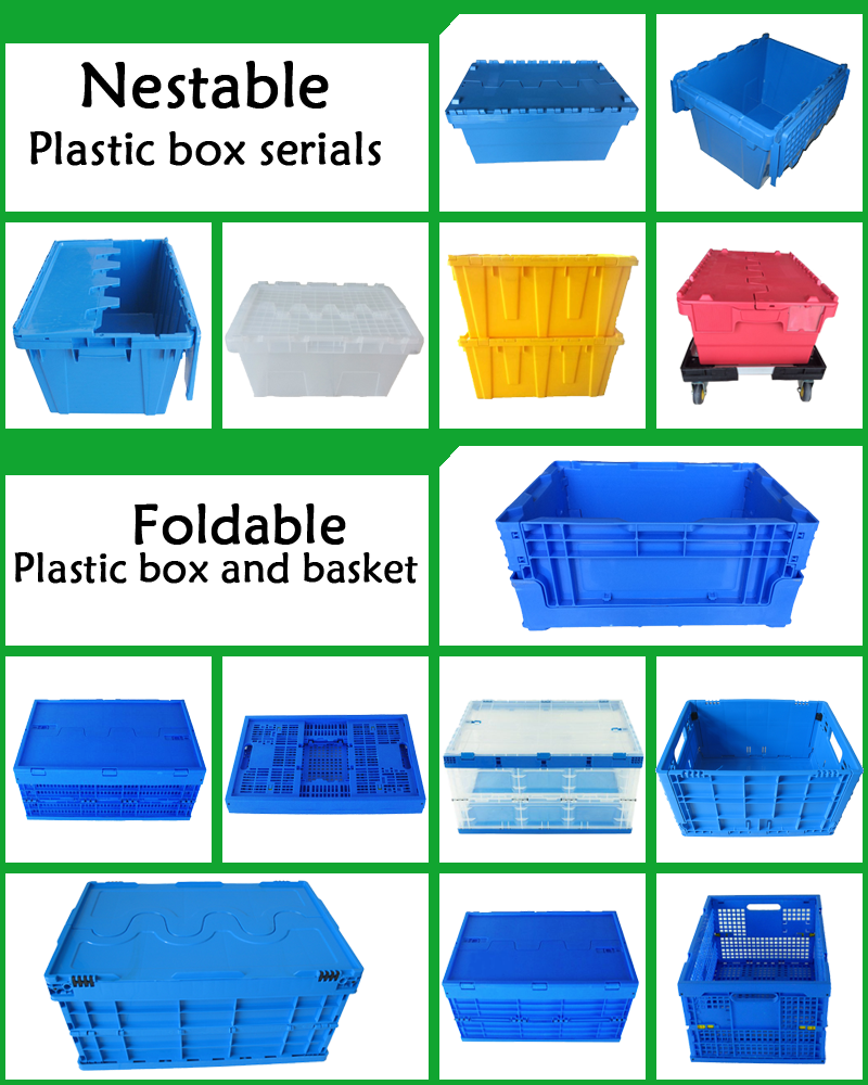 Hot Sale 180L Plastic Foldable Storage Box
