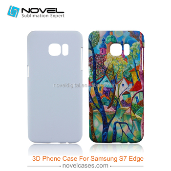 Wholesale! For Galaxy S7 Edge 3D sublimation phone Case, Blank phone cover