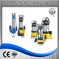sewage cutting submersible water pump sewage no clogging pump domestic sewage pompa