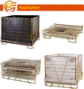 Collapsible Lockable Welded wire mesh cages cage for cargo and storage equipment