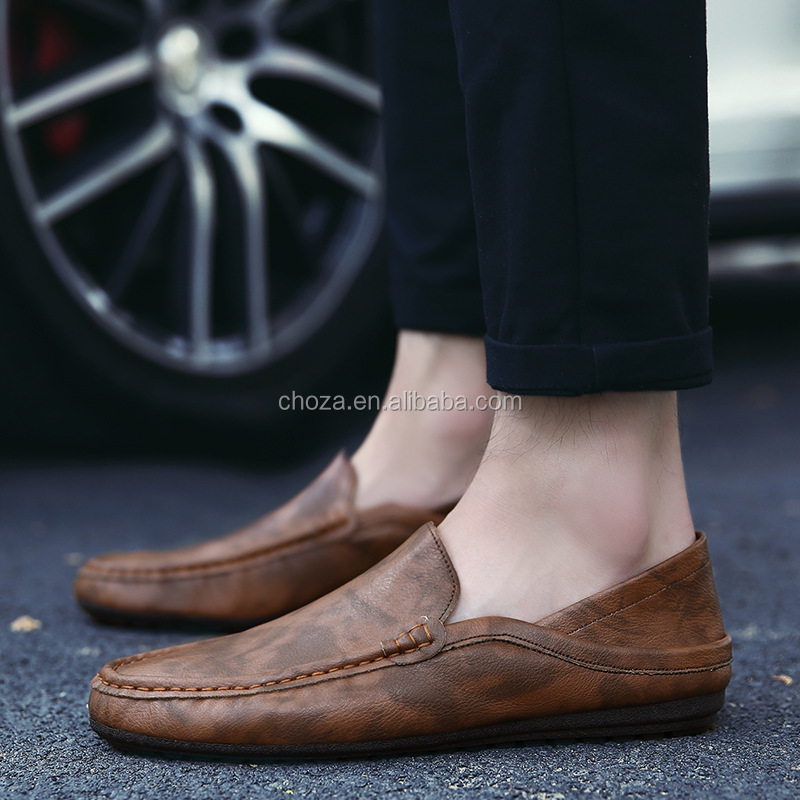 C23384B new shoes style men fashion leather shoes men casual shoes