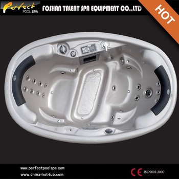 Romance design!Oval shape hot tub sex spa/sex you tub indoor/2 person 2 lounge hot tub with sex massage