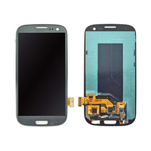 4.8 inch LCD Screen with Frame for Samsung S3 I9300,Blue