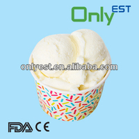 Hot sell logo printed 3oz-A decorative disposable paper ice cream cups