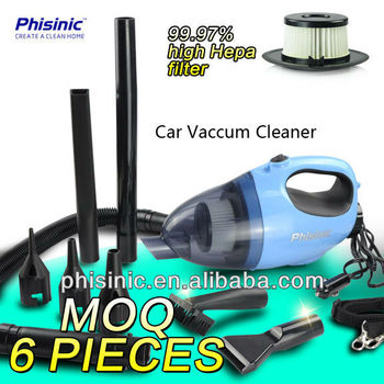Handy Lightweight 12V Car Vacuum Cleaner & Blower