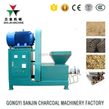 Machine to make wood sawdust briquette