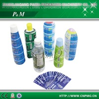 PVC shrink wrap bottle labels/shrink labels for pvc bottles printed