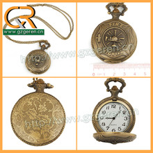 Customized smart pocket watch with chain for sale