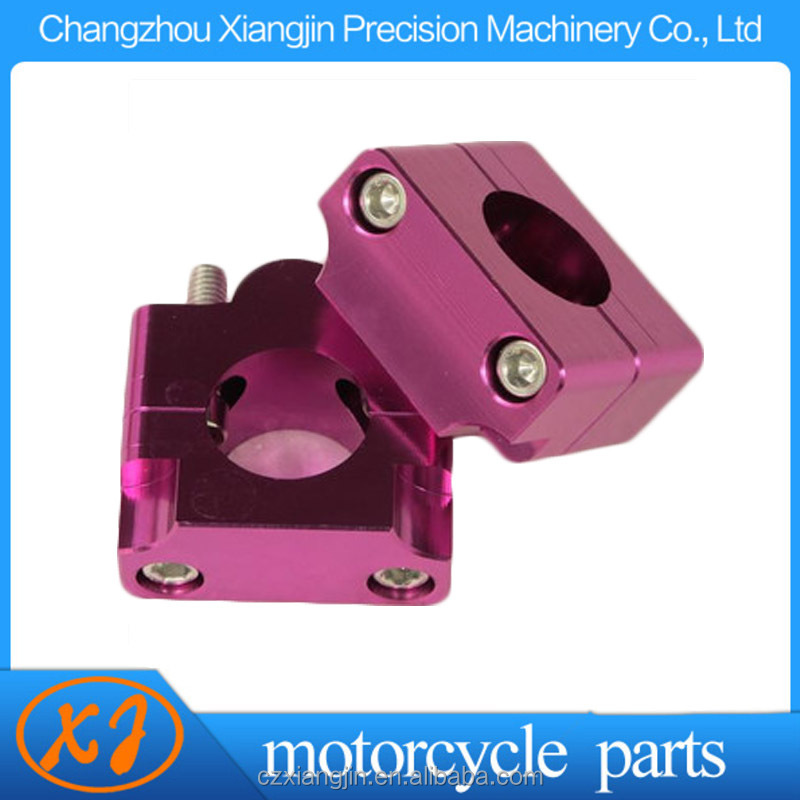 cnc colorful anodized motorcycle handlebar riser Chinese factory