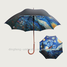 Promotion popular outdoor double layer UV protection umbrella pole parts