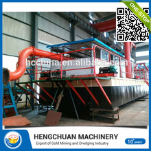 Chinese Latest Technology River Jet Suction Sand Pump Ship Dredger For Sale
