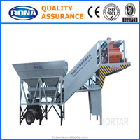 CE,ISO YHZS25 YHZS35 YHZS50 YHZS75 mobile concrete batching plant for sale