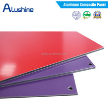 Alushine factory insulated aluminum panel decorative wall panel aluminum composite interior&exterior wall panel