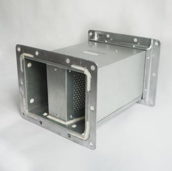 HVAC Systems Square Silencer for Ventilation Duct