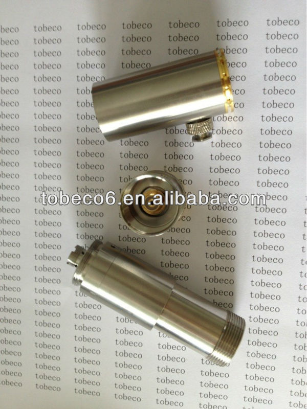 tobeco 2013 stainless steel full mechanical mod GGTS clone