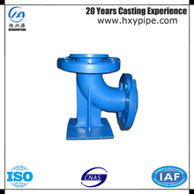 90 Degree Duckfoot Bend with Loose Flanges Double Flanged Duckfoot Bend Water Pipeline Fittings