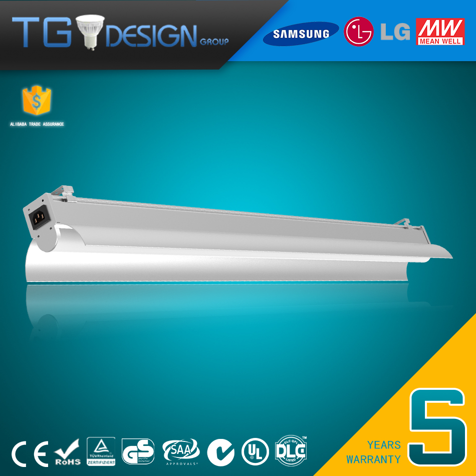 2016 Subway IP44 light tube, integrated led tube anti-glare 1200mm 1500mm led tube 40w 60w