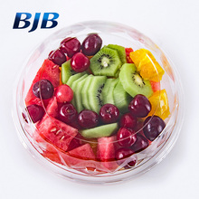 wholesale clear pet fruit packaging cheap take away plastic salad box