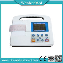 Economic Crazy Selling 12leads ecg machine workstation