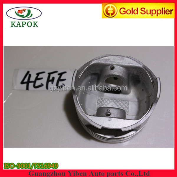 Casting Aluminum piston for Toyota 4EFE engine piston 13101-11101