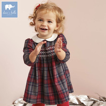 DB5565 dave bella spring autumn fashion toddler dress baby clothes infant dress baby girl dress