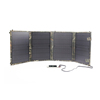 40W Foldable Solar Panel with Fabric bag, workable as portable solar charger kit for mobile, camera